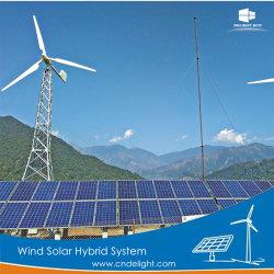 Изысканность ветровой турбины генератор солнечной гибридной системой для дома