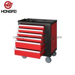 Empuñadura del lado de las trompas Industrial Herramienta de embalaje Caja de acero inoxidable carro