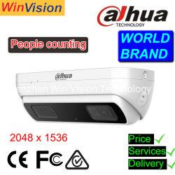 La gente di Dahua ricambia la macchina fotografica Ipc-Hdw8341X-3D, macchina fotografica di Ai del IP di funzione di conteggio della gente di Dahua dell'Doppio-Obiettivo 3MP