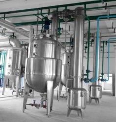 Tubo circular para a indústria farmacêutica do potenciômetro de concentração de vácuo