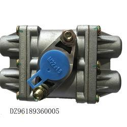 Quatre pièces de rechange Shacman original la soupape de protection du circuit de Dz96189360005