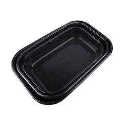 MetallBakeware KohlenstoffstahlCookware BBQ-Gitter-Wannen-Decklack-Backen-Wanne