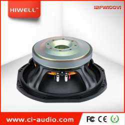 Профессиональные громкоговоритель 12'' Ферритовый Midbass высокой мощности 1200 Вт динамик для линейного массива.