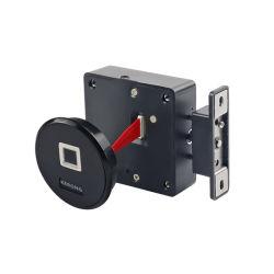 KERONG新しいデザイン中央制御を用いるロッカーの家具のためのフラッシュによって取付けられる台所指紋のキャビネットロック