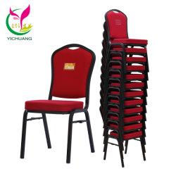 Empilhamento modernos de alta qualidade Conferência de alumínio Hotel Jantar Cadeira Banquetes