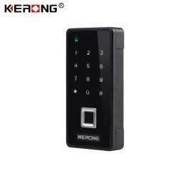 KERONG Electric Code QR numérique d'empreintes digitales RFID hidden Home,Office,salle de gym casier tiroir armoire électronique de serrure de porte avec alarme