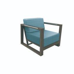 Сад диван открытый алюминиевый Османской кровати для отдыха есть место Председателя