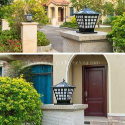 다중 색깔 원격 제어 Zf-Ol-046를 가진 옥외 포스트 정원 Gatedoor LED 태양 기둥 빛