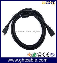 Haute qualité du HDMI mâle à femelle Câble rond
