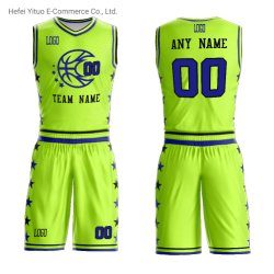 Полиэстер сетка личные пользовательские баскетбол обмундирования рубашки