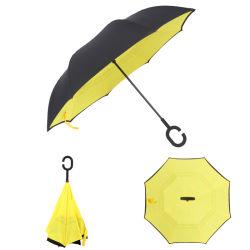 Назад Зонты складные двойной слой в перевернутом положении C правой стойки держателя датчика дождя и освещенности ТЕБЯ ОТ ВЕТРА Закидывание зонтик