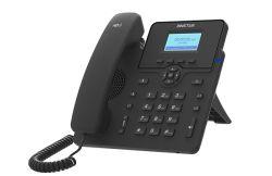 China VoIP Basic Lever SIP Phone Black 3-weg conferentie