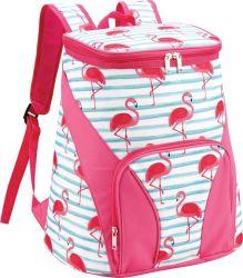 Охладитель Flamingo рюкзак изолированный водонепроницаемый рюкзак для работы обед поездки на пляже кемпинга походов для пикников и рыболовства