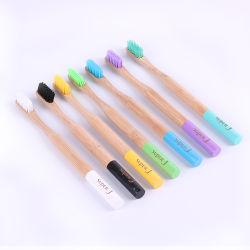 Novo Estilo Personalizado de moda de Dentes de bambu de cerdas Médio
