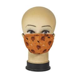 غطاء قناع أسود لفم أسود غير مسحّن يسمح بمرور الهواء بشكل كامل