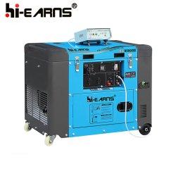 ATS 시동기 디젤 엔진 발전기 세트 (DG8500SE가)를 가진 50Hz 상단 열리는 덮개