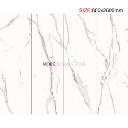 Вилла в коммерческих целях стены пол дополнительных больших размеров тонкие панели Калькутта белого камня фарфора большие плитки душ