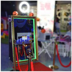 Mayorista de alquiler de boda Photobooth caliente de la magia de la máquina de fotos de espejo Selfie Máquina Stand Smart Mirror en venta