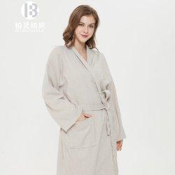 [أونيسإكس] [ترّي كلوث] يدبّس [بثروب] 100% طويلا [لينن] قطن [هوتل/سبا] ثوب [بث روب] كلاسيكيّة لأنّ رجال أو نساء