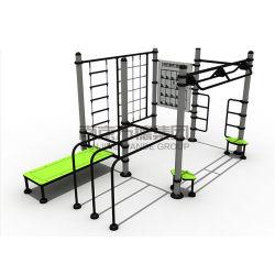 Treinamento de força corporal total da estação de ginástica Equipamento de fitness ao ar livre