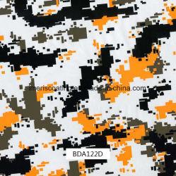 pellicole larghe di stampa di 1m Digitahi Camo Hydrographics, stampa di trasferimento dell'acqua, PVA, pellicole liquide di immagine per i punti esterni e pistole (BDA122D)
