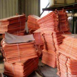 Prix bon marché 99,99 % Pure cathode de cuivre / cuivre cathode/cathode de cuivre lingot en alliage