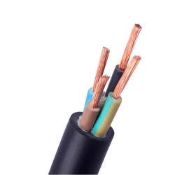 cavo di controllo schermato fodero isolato PVC flessibile selezionato treccia elettrica del PVC del collegare del rame di potere edificio di 0.5mm 0.75mm 1mm 1.5mm 2.5mm 4mm 6mm 10mm Thhn Thwn