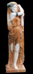 Мраморные Леди Angel скульптура резьба (SR004)