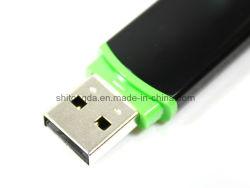 برنامج تشغيل USB Flash البلاستيكي بسعة 2 جيجابايت وسعة 4 جيجابايت وسرعة بيع 16 جيجابايت مع طباعة الشعار الجانبي