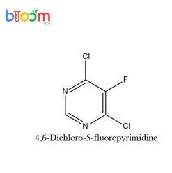 Chemische Reagens-Blüten-Technologie 4, 6-Dichloro-5-Fluoropyrimidine CAS 213265-83-9