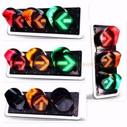 400mmの手段の交通安全のための赤い黄色緑の矢LEDの方向信号