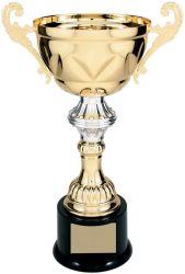 Awards Cup Trophy, Ouro e Prata Copa corporativa de metal da placa gravada de adjudicação mediante pedido