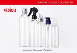 Les bouteilles vides distributeur de pompe de 8 Oz le capuchon de verrouillage sans BPA noir en plastique PET
