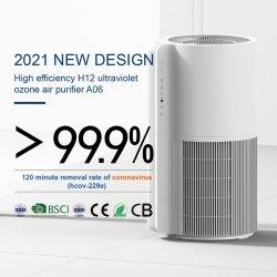 الجملة 2021 Smart Plasma Personal HEPA H13 H14 UV UVC جهاز التعقيم بالأوزون Tuya RoHS فلتر الكربون الصغير الداخلي لتنقية الهواء جهاز تنقية النظام للمنزل