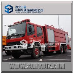 Isuzu Fvz 8000L - 160000L 6X4 فوم النار مناقصة