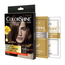 Extrait de plante saine Tazol Couleur des cheveux Soins personnels