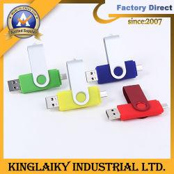 Disco Flash USB Design Giratório Memory Stick