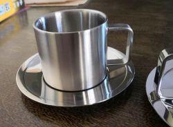 Duble 층 스테인리스 304 커피 잔 세트, SUS304 컵