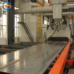 Förderanlagen-Typ Granaliengebläse-Maschine der Rollen-Q69