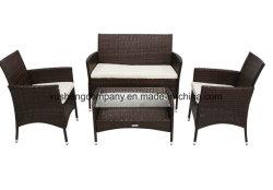 ソファーセットが付いている屋外の家具のための藤の家具