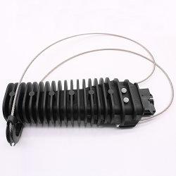 Câble en plastique de type de filtre en coin ADSS Colliers d'ancrage