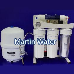 Жилом воды RO обращения (5 ступени системы обратного осмоса с насосом и подставки)
