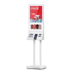 32-дюймовый сенсорный Android автомат, интерактивного самообслуживания киоск оплаты для заказа продуктов питания с поддержкой POS ресторан и принтера