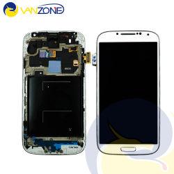 Tela de LCD para a Samsung Galaxy S4 branco e preto do conjunto do ecrã