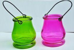 Vender o Lanterna jarra de vidro quente titulares de vela para o Festival do Dia das Bruxas