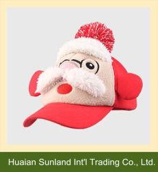 2015の新しいFashionalのクリスマスの帽子の美しいクリスマスの赤い野球帽