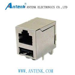 Transformateur avec Ethernet RJ45 jack modulaires blindés