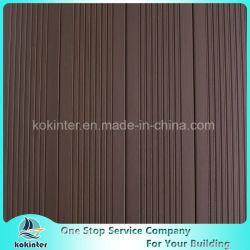 Suelo de bambú tejido hilo al aire libre de bambú del Decking