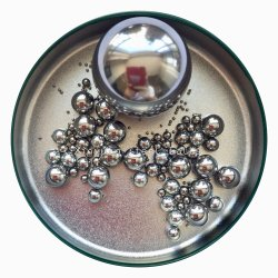 As esferas de aço inoxidável 11,5mm 11.509mm 11.906mm 12mm 12.303mm 12,7 mm 13.494mm