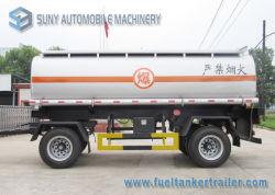 De internationale Dubbele Volledige Aanhangwagen van de Tank van de Olie van de As 15000L of Chemische Vloeistof